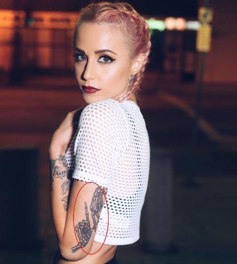 Carah Faye Charnow LA Tattoo