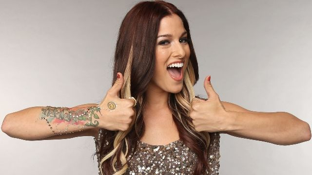 Cassadee Pope Smiley Face Tattoo