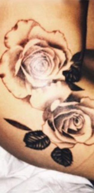 Jessica Shears Rose Tattoo