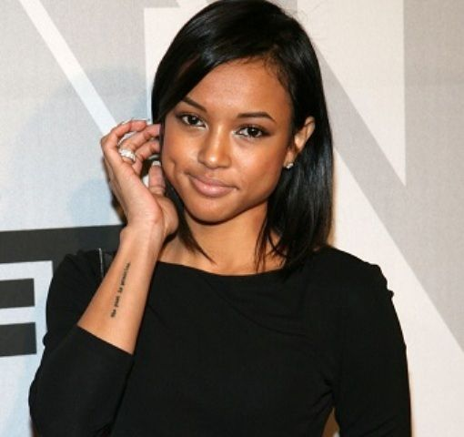 Karrueche Tran Tattoos