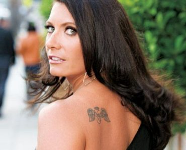 Misty May Angel Tattoo