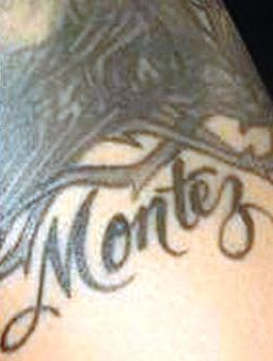 Monica Brown Brother Name Tattoo