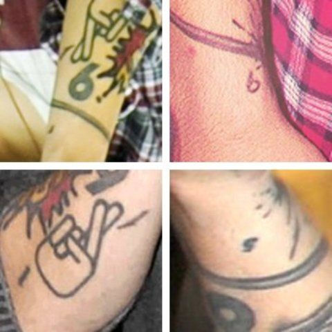 Zayn Malik Number Tattoo