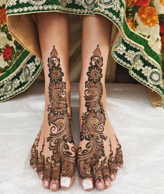 Leafy Mehndi Designs