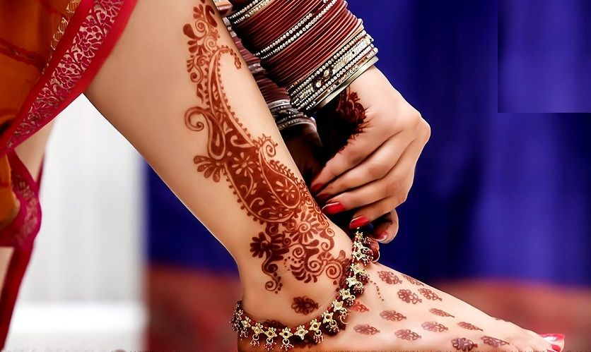 ed03b895f 30 Amazing Henna Mehndi Designs For Legs – Body Art Guru