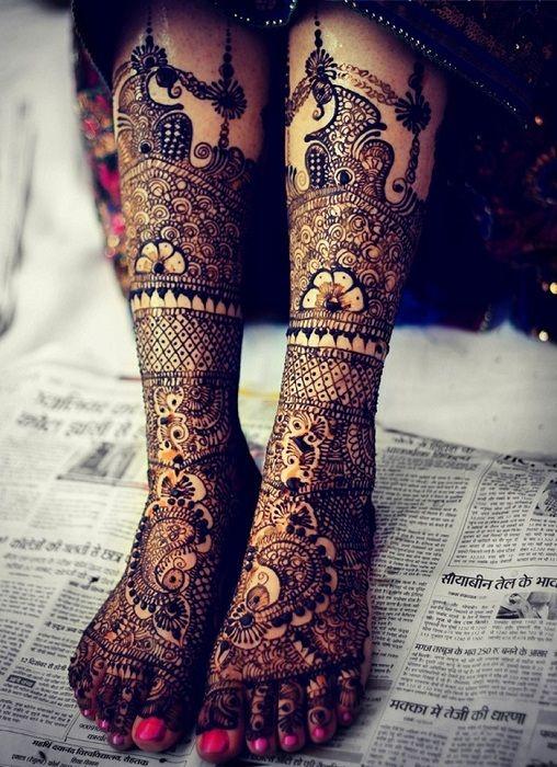30 amazing henna mehndi designs for legs body art guru