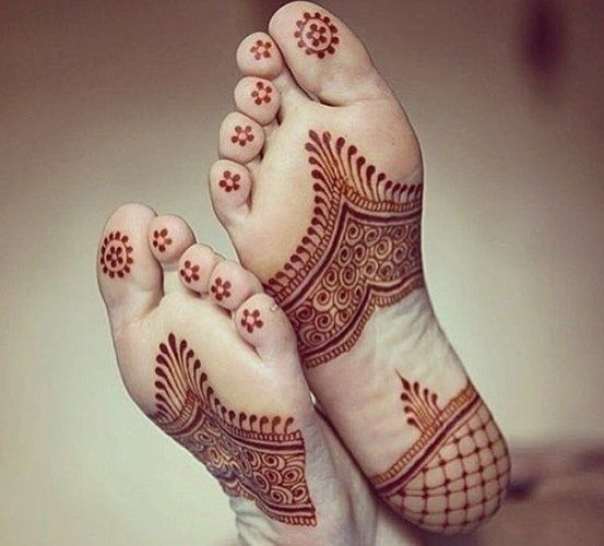 30 Amazing Henna Mehndi Designs For Legs Body Art Guru