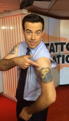 Carson Daly Left Arm De Oprre sso