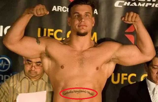 Frank Mir Front Ab