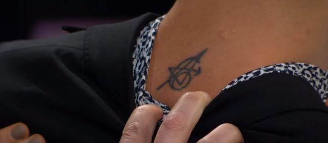 Jeremy Renner Avenger Tattoo