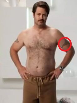 Nick Offerman Tattoo