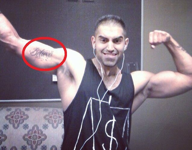 Parmish Verma Tattoos - Biceps