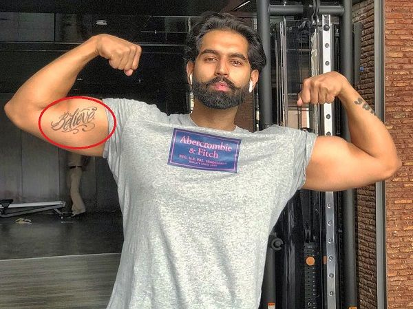 Parmish Verma Tattoos - Biceps 2
