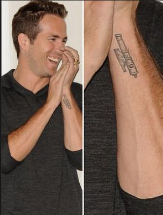 Ryan Reynolds' Left Arm Cannon