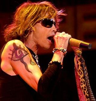 Steven Tyler Right Shoulder