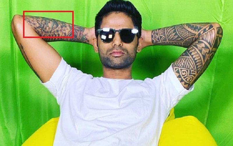 suryakumar yadav-forearm-tattoo