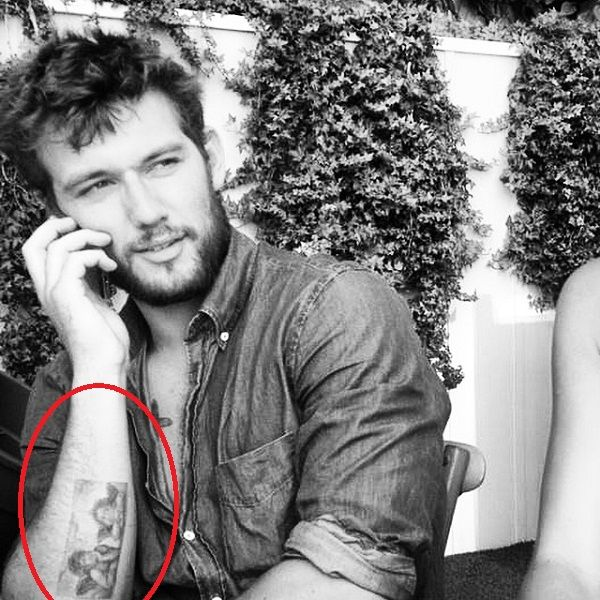 Alex Pettyfer Potrait tattoo