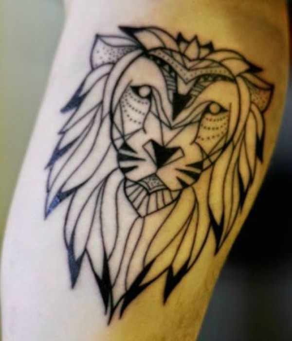 Edmonton Lion Tattoo