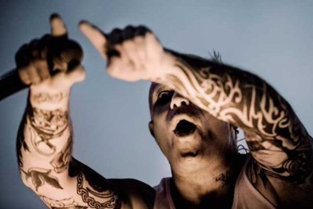 Keith Flint Hand Tattoos photo