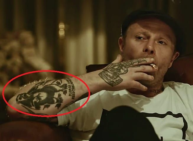 Keith Flint's Tattoo