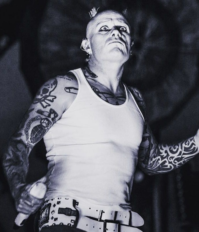 Keith Flint Tattoos