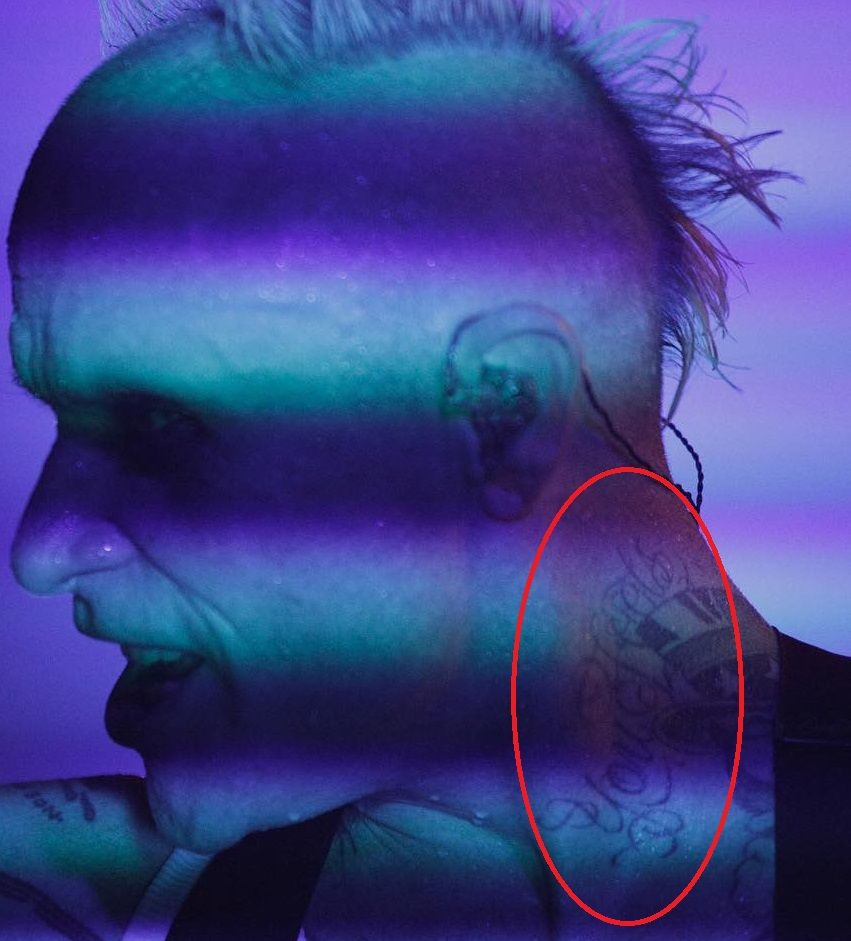 Keith Flint Tattoo - You Fools