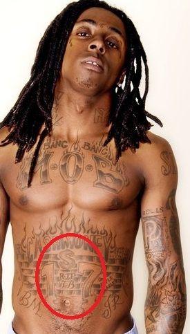 Lil Wayne 17 tattoo