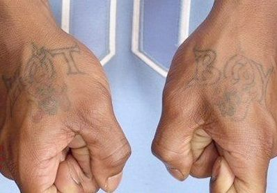 Lil Wayne HOT BOY Tattoo (2)