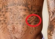 Lil wayne apple and eagle tattoo