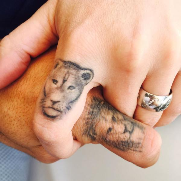 Luis Suarez Lion Tattoo