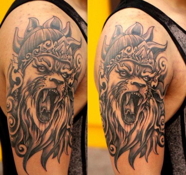 Narasimha Tattoo
