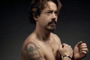 Robert Downey Jr indio Tattoo