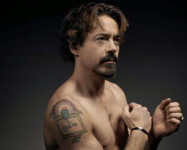 Robert Downey Jr indio Tattoo