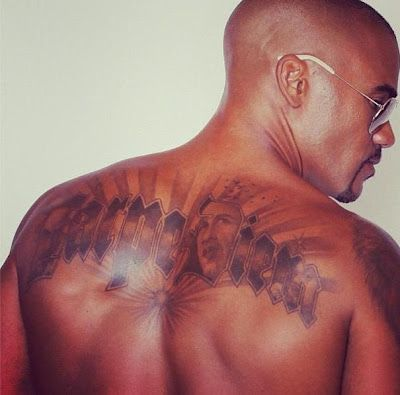 Shemar Moore Carpe Diem Tattoo