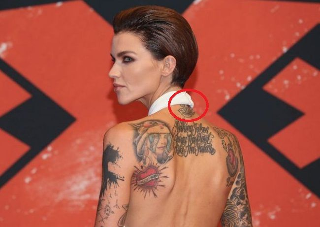 0c57998afc1cd Ruby Rose's 57 Tattoos and Their Meanings – Body Art Guru