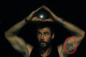 Chris Hemsworth Dr Seuss Tattoo