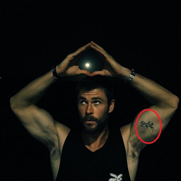 Chris Hemsworth S 3 Tattoos Their Meanings Body Art Guru