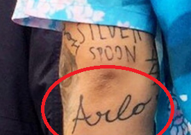 Harry Styles ARLO Tattoo