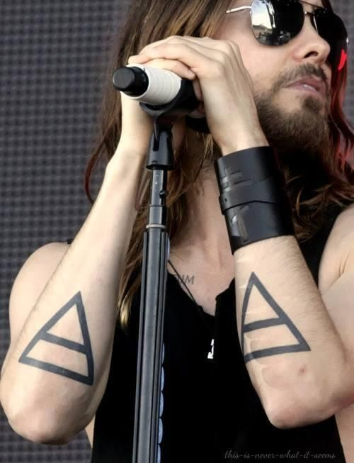 Jared Leto Alchemy Tattoo