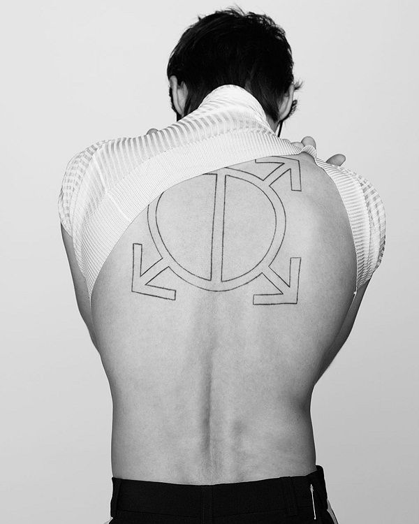 Jared Leto Orbis Epsilon Tattoo