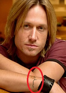 Keith Urban - Amor Vincit Omnia Tattoo