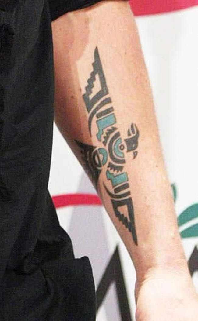 Keith Urban Pheonix Tattoo