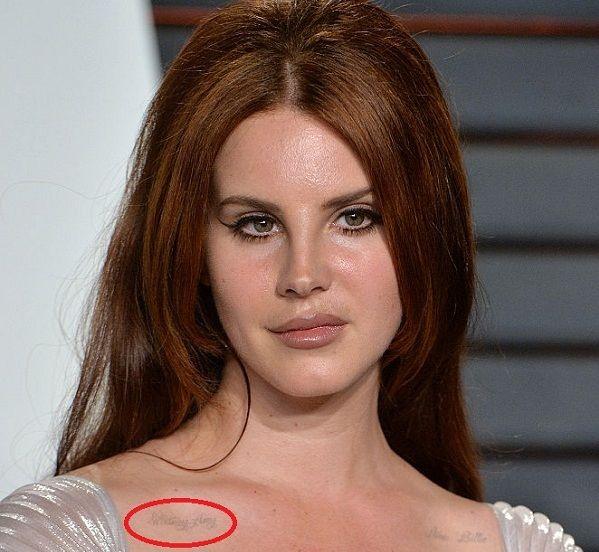 Lana Del Rey S Tattoos Their Meanings Body Art Guru