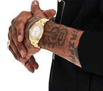 Nipsey S, C Tattoo