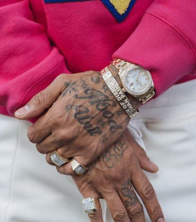 Nipsey Hussle - Hood Unit Tattoo