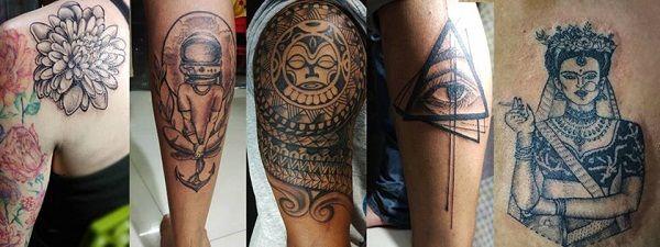 Tuhi Dutta tattoos