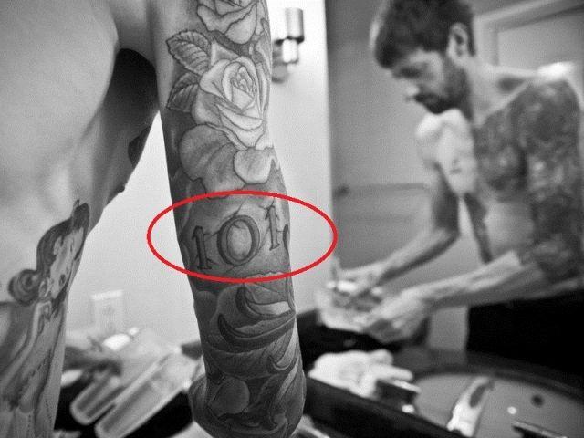 101- Sir Bradley Wiggins tattoos