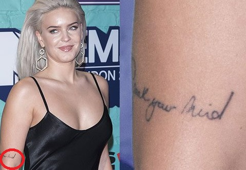 Anne-Marie-Speak Your-Mind-tattoo
