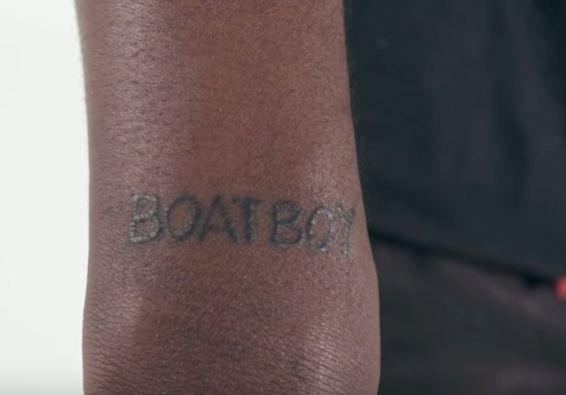 Boat boy-Lil yachty tattoos