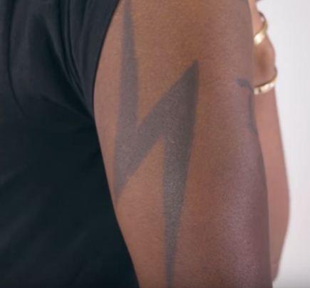 Bolt-Lil yachty tattoos